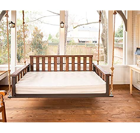 Swing Beds - AD Planet Indoor Wooden Hanging Swing Bed