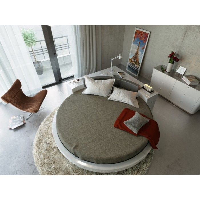 The Flattering Round Bed - Modest Plato Round bed
